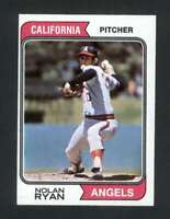 1974 Topps #20 Nolan Ryan NM/NM+ Angels 114588