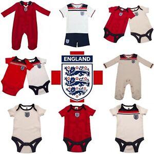 England Baby Kit Babygrow Sleepsuit Vests Body Suit Baby Shirt Short England FA
