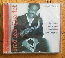 Brad Leali Quartet - Live In Europe CD TCB Recs (New & Sealed)