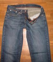 """LEVI`S 1529 Schlag- Jeans / elastische Damen- LEVIS in blau ca. W27"""" /L32"""""""