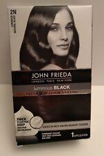 John Freida PRECISION FOAM 2N Natural Black Brand New Ships Free
