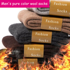 Super Thick Cashmere Winter Plus Velvet Thick Warmth Men's Casual Tube Socks