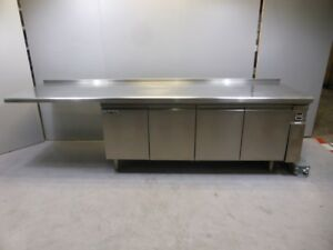 Polaris Kühltheke mit Arbeitsfläche 295cm KTAP03 4-türig Kühlschrank Gastronomie