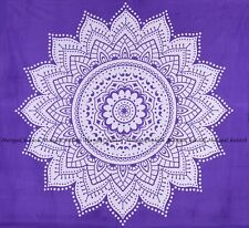 Indian cotton tapestry mandala wall hanging hippie bohemian bedding bedspread
