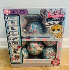 LOL SURPRISE - AUTHENTIC WINTER DISCO FLUFFY PETS UNTOUCHED CASE 16 BALLS