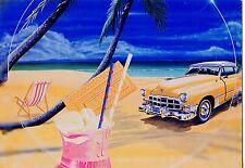 CP / POSTCARD / ILLUSTRATEUR / THE CAR / VOITURE / BEACH  PAR BERTRAND