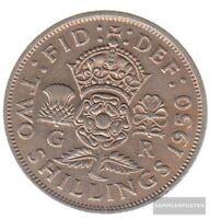 Großbritannien KM-Nr. : 878 1951 vorzüglich Kupfer-Nickel 1951 1 Florin George V