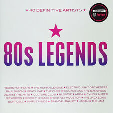 Various – 80s Legends (40 Definitive Artists) [New & Sealed] CD