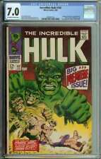 Incredible Hulk #102 CGC 7.0 Continues From Tales to Astonish #101