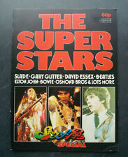 """Story of Pop Special """"Super Stars"""" (1974) Slade Rolling Stones Beatles Bowie"""