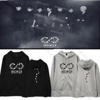 Kpop Infinite Only Cap Hoodie The Eye Sweater Unisex Sweatershirt Pullover
