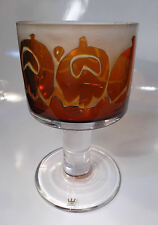 Kosta Boda Goran WARFF Signed Art Glass Compote Vase Mid Century - Estate!