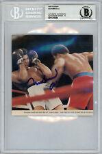 Muhammad Ali Autographed 5x5 Magazine Page Photo Gem Mint 10 Beckett 11319384