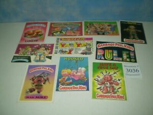"""Lot of 10 Original 1986 Garbage Pail Kids Post Cards Approx Size 6 7/8"""" x 4 7/8"""""""