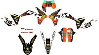 Kit Pegatinas KTM EXC 2012 , decals KTM EXC , stickers KTM