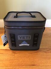 Yeti Hopper Flip 12 Soft Cooler Charcoal W Logo Brand New W Tags Free Shipping