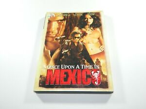 ONCE UPON A TIME IN MEXICO DVD SALMA HAYEK JOHNNY DEPP ANTONIO BANDERAS