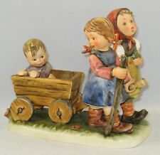 "New ListingHummel Figurine ""Pleasant Journey"" Hum 406 Trademark 6 With Original Box"