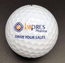 Impres Pharma  Logo Golf Ball (1) Titleist DT Solo Preowned