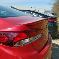 PAINTED SPOILER Deck Wing NO DRILL Installation For: HYUNDAI SONATA 2018-2019
