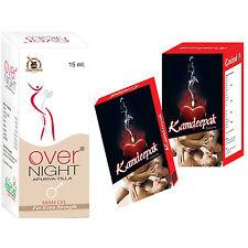 Herbal Supplements Increase Sexual Power In Men 120 Kamdeepak + 6 Overnight Oil