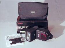 Sigma EF-610 DG ST Shoe Mount Flash for Pentax