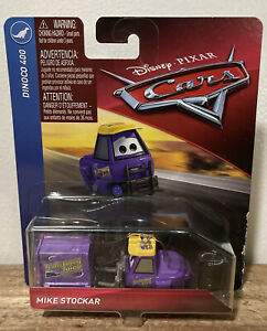 Disney Pixar Cars 3 Mike Stockar Transberry Juice Pitty Dinoco 400!