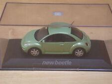 1/43 MINICHAMPS VW Volkswagen New Beetle vert green grün 1998