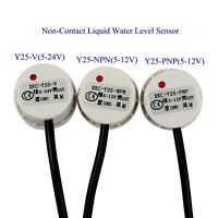 US Non-Contact Liquid Water Level Sensor Induction Switch Detector Y25-V/PNP/NPN