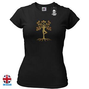 Yoga Meditation T-shirt Tree Of Life Namaste Inhale Exhale Heavily Meditated Mm