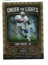 2020 Panini Legacy Barry Sanders Under The Lights Chrome Refractor #/100