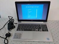 Dell Inspiron 5570 15.6-inch Laptop   White   Intel Core i3-6006U   4 GB   1 TB