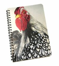 Hen 120 Page Spiral Coil Diary Notebook Ruled Student Planner Pad Note