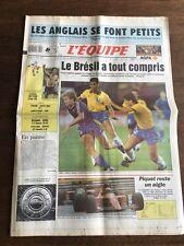 Journal l'Equipe - 12 Juin 1990 - 45 eme année - n 13716