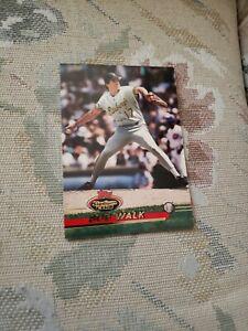Bob Walk Pittsburgh Pirates 1993 Topps Stadium Club Ungraded