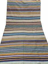 "Om Vintage Indian 100% Cotton Thread Woven Carpet Size- 76"" / 41"" C11"