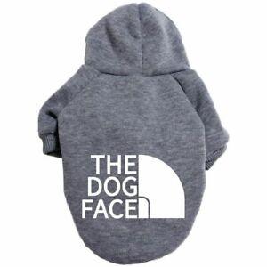 Pet Dog Clothes Sweater Medium and Large Dog Hoodie Labrador French Bulldog Jack