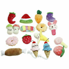 1PCS Pet Dogs Plush Sound Chew Toys Puppy Chew Toys Kong Dog Toys For Small Dogs