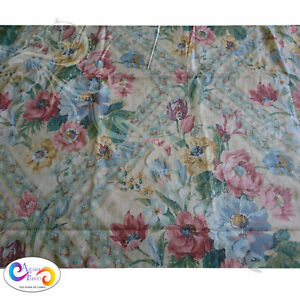 2.8mts Windrush design by Brown & Rowan Floral on Cream Background 140cm wide
