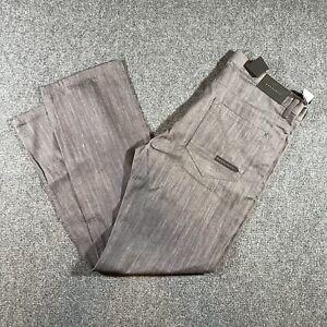 Sean John Men's straight fit Jeans Gray Cotton Denim 38x34 Hamilton