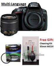 Nikon D5300 Digital SLR Camera + 18-55mm VR Lens Kit + 55mm MCUV + Cleaning Kit
