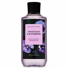Bath & Body Works Violet Leaf & Blackberry Shower Gel 10 fl oz / 236 ml