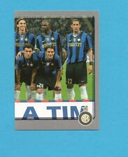 PANINI CALCIATORI 2008-2009- Figurina n.175-SQUADRA/TEAM DX -INTER NEW