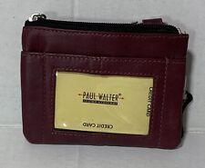 New Women Eggplant Key / coin purse wallet card holder Pocket wallet zippered