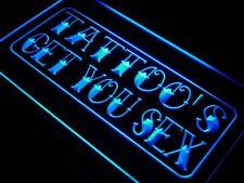 j614-b Tattoo Get You Sex Shop Display Neon Light Sign