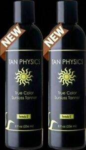 Tan Physics True Color (2 pack) w/ 5 FREE pairs of application gloves, Sunless T