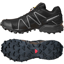 Salomon SPEEDCROSS 3 W Damen Laufschuhe Trailrunning Schuhe Schwarz 42 Neu