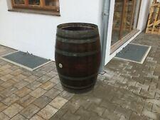 Regentonne Holzfaß Wasserfaß 225L Weinfaß gebraucht Eichefaß Regenfaß Gartenfaß