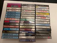 Lot of 46 Big Band and War Cassette Tapes Original Cassettes Full Album