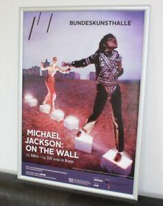 Michael Jackson  Ausstellung   Poster  selten